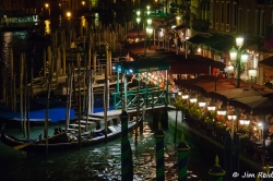 Evening Dining on the Grand Canal