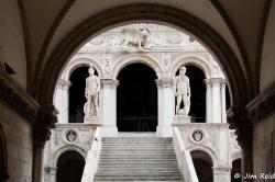 """Scala dei Giganti"" (inside Palazzo Ducale)"