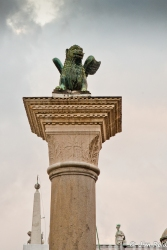 Winged Lion of St Mark