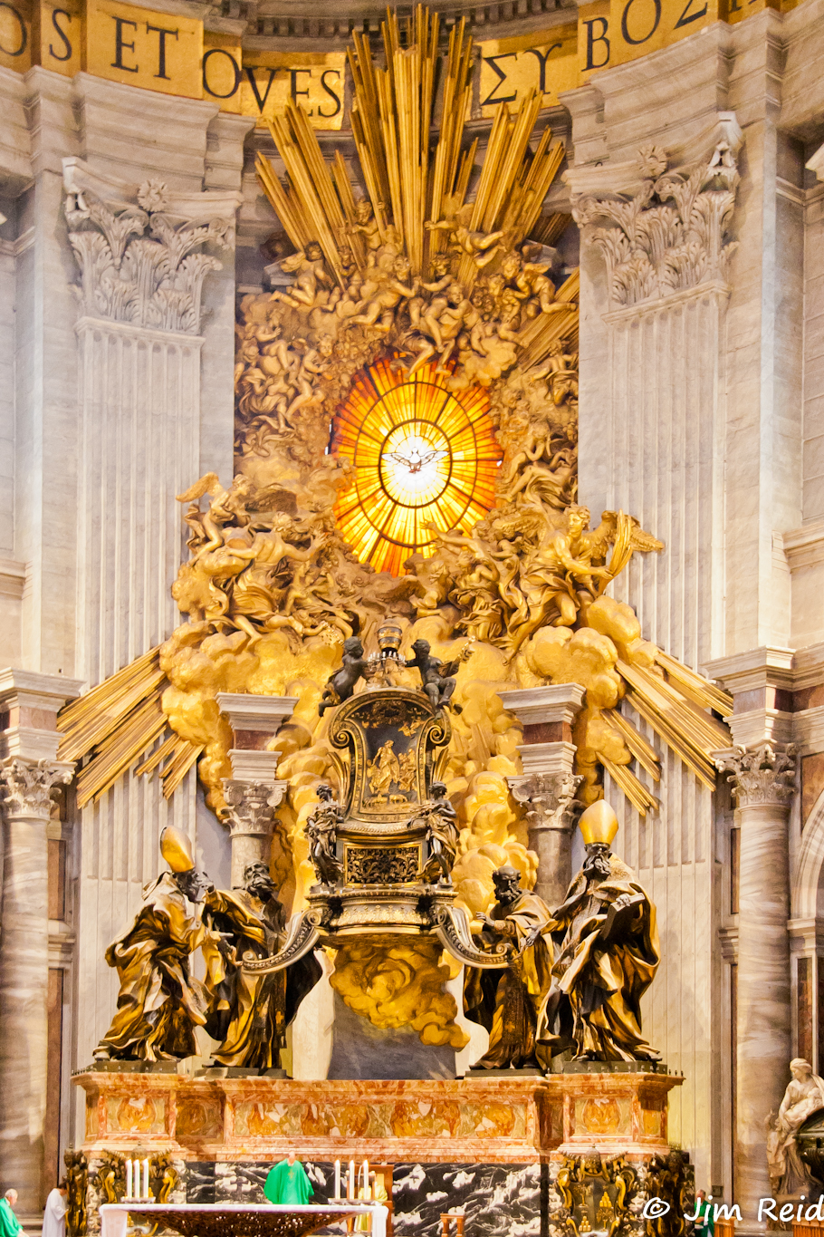 "Cathedra Petri Or "" Throne Of St Peter"""