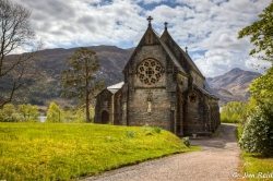 St Mary's and St Finnon's Church - Glenfinnan