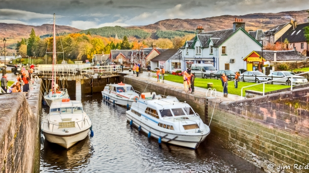 Canal Lock_Fort Augustus