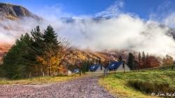 """""""Scotch Mist"""" in Glen Nevis"""