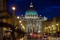 The Vatican at Dusk